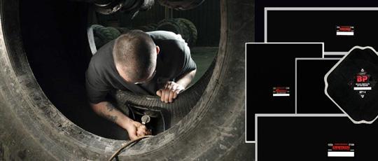 Пластыри диагональные для ремонта шин