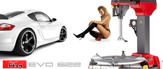 Революционный шиномонтаж Sicam EVO 622