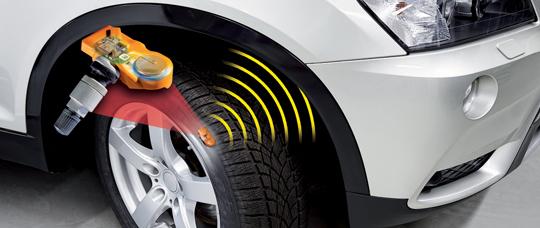 Датчики контроля давления в шинах TPMS